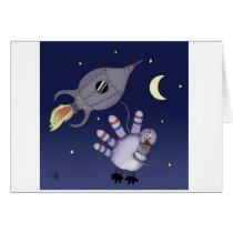Out of this World Thanksgiving Greeting Card