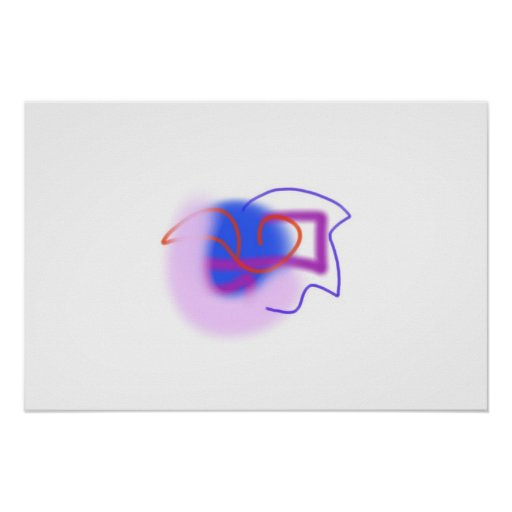 Out of Thoughts Print