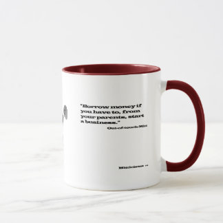 Out-of-Touch Mitt Mug