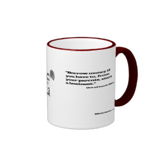 Out-of-Touch Mitt Ringer Coffee Mug
