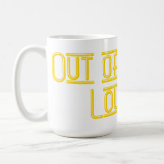 Out of Towner Lounger Mug 15oz. w/y