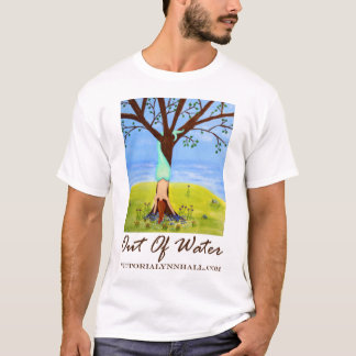 """""""Out Of Water"""" Mermaid Art Promo T-Shirt"""