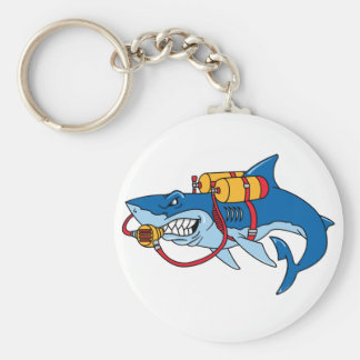 Out Of Water Shark Keychains
