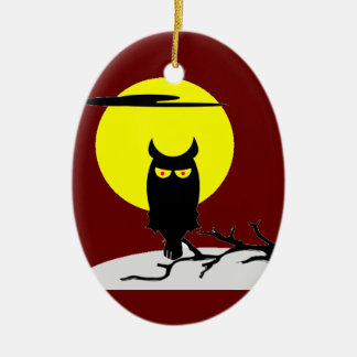 Out on a Limb Ceramic Ornament