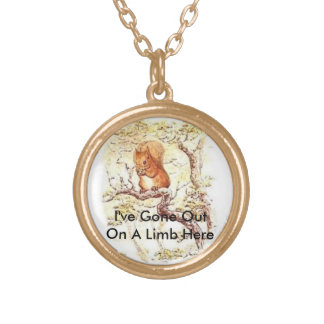 Out On A Limb Chain Necklace