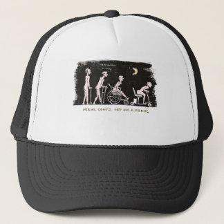 OUT ON A PROWL TRUCKER HAT