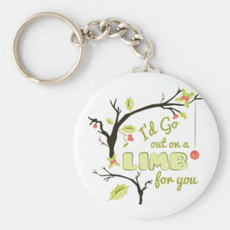Out On Limb Keychain