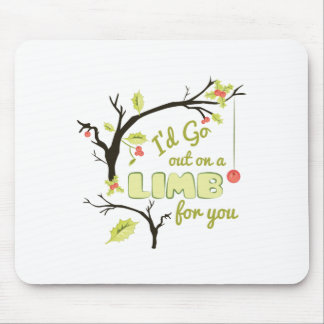 Out On Limb Mouse Pad