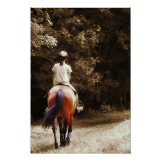 OUT ON THE TRAIL 13 x 19 Print