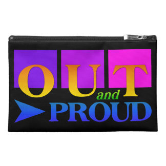 OUT & PROUD accessory bags
