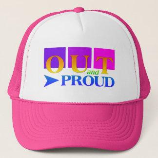 OUT & PROUD hat - choose color