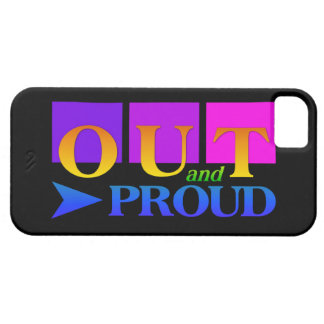 Out & Proud iPhone 5 Case-Mate iPhone SE/5/5s Case