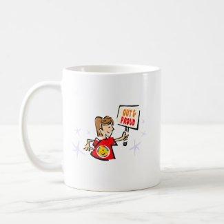 Out & Proud mug