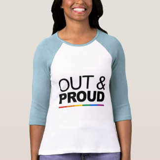 OUT & PROUD SHIRT