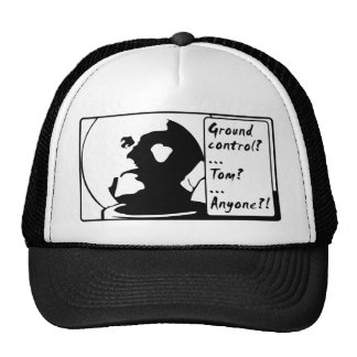 Out Spaced Man Mesh Hat