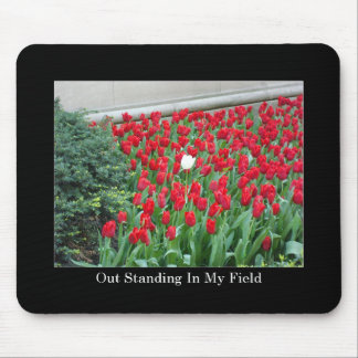 Out Standing In My Field Mouse Pads