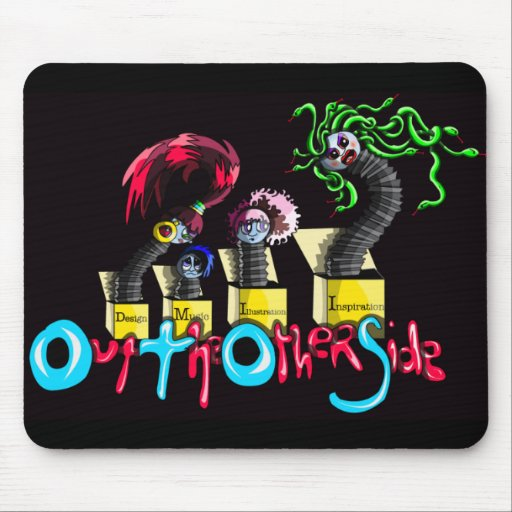 Out the Other Side  (Jack in a Box) Mouse Pad