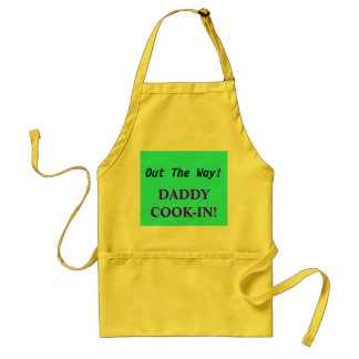 Out The Way!, DADDYCOOK-IN! Aprons