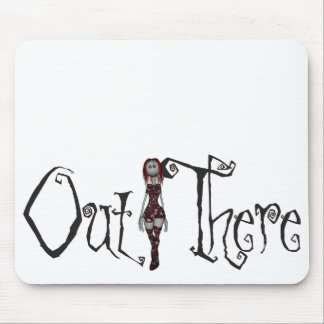 Out There - 3D Freaky Bonga Doll - Redhead Mouse Pad