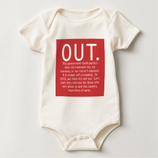 Out There Baby Bodysuit