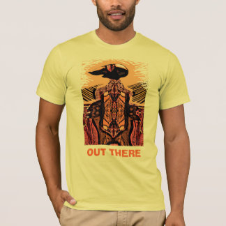 OUT THERE light dark design T-Shirt