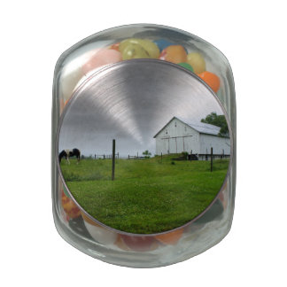 Out to Pasture Jelly Belly Candy Jars