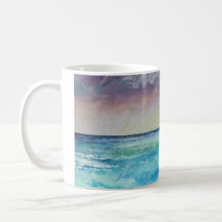 Out to Sea from Chapel Porth Coffee Mug