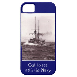 Out to sea with the Navy iPhone SE/5/5s Case