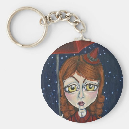 Out Trick Or Treating Keychain