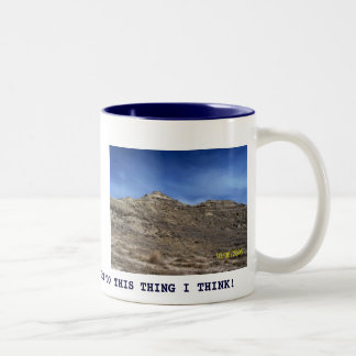 out west.jpg, THERE'S A BOTTOM TO THIS THING I ... Two-Tone Coffee Mug