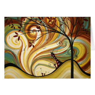 Out West Original Art MADART Note Card Design