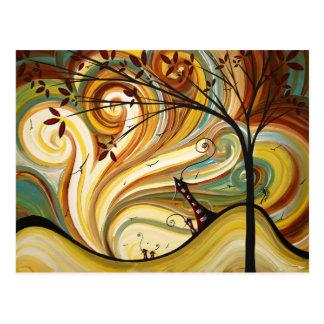 Out West Original Art MADART Postcard Design