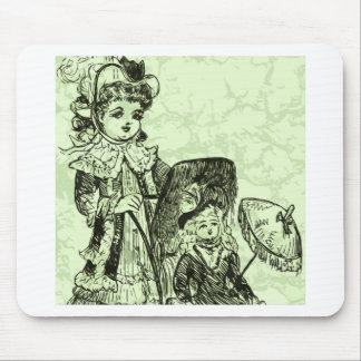 Out with Dolly Mouse Pad