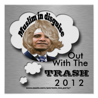 Out with the Trash Poster