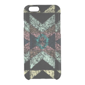 Out-worn tribal pattern. clear iPhone 6/6S case