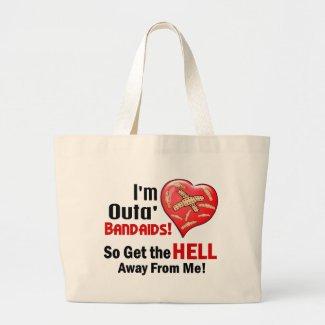 Outa' BandAids bag