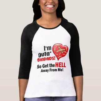 Outa BandAids Camiseta