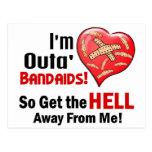 Outa' BandAids Postcards