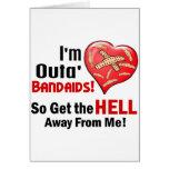 Outa BandAids Tarjetas