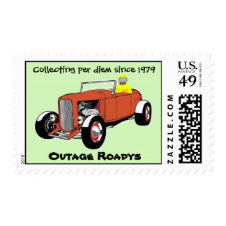 Outage Roadys Postage Stamp