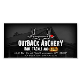 Outback Archery Poster