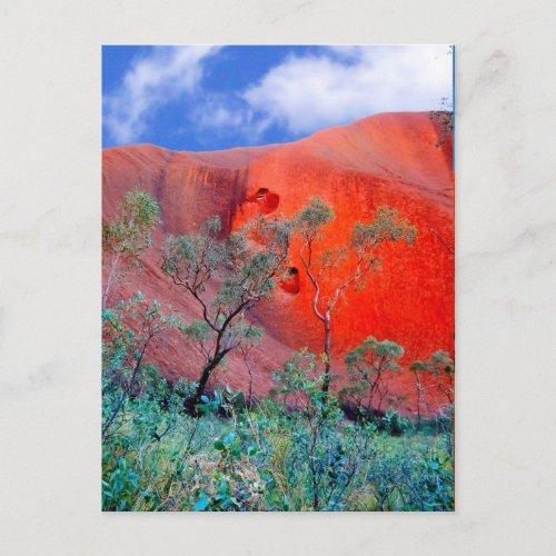 Outback Australia postcard