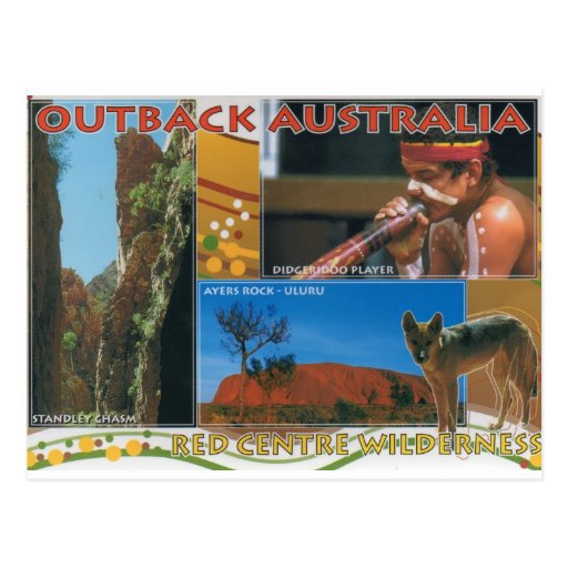 Outback Australia Post Cards