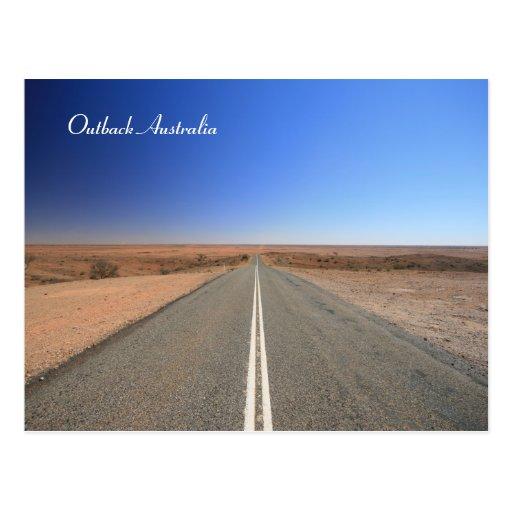 Outback Australia Postcard Postcard