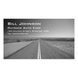 Outback Australia Road, Auto Care - Business Card