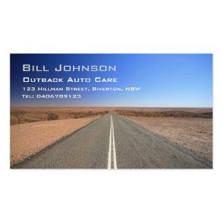 Outback Australia Road Auto Care - Business Card