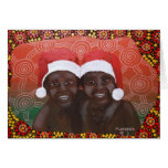Outback Boys Merry Christmas Greeting Card