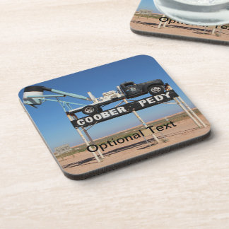 Outback Coober Pedy Customized Souvenir Beverage Coaster