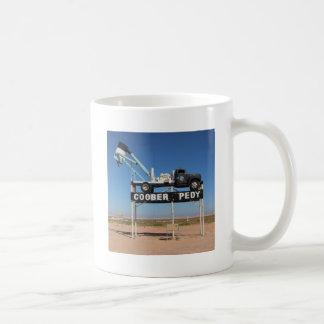 Outback Coober Pedy Customized Souvenir Classic White Coffee Mug