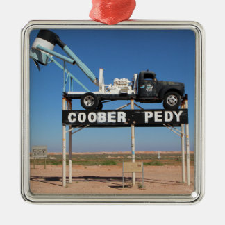 Outback Coober Pedy Customized Souvenir Christmas Tree Ornaments